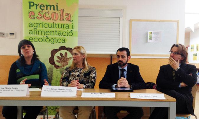 Convocado el tercer premio Escola, agricultura i alimentació ecològica