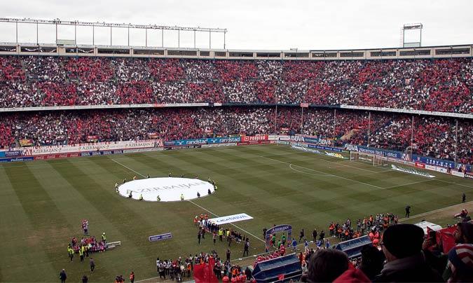 Ante el Real Madrid, el pasado 7 de febrero, las dos aficiones llenaron el campo hasta la bandera poniendo a prueba los servicios y logística de Mediterránea.