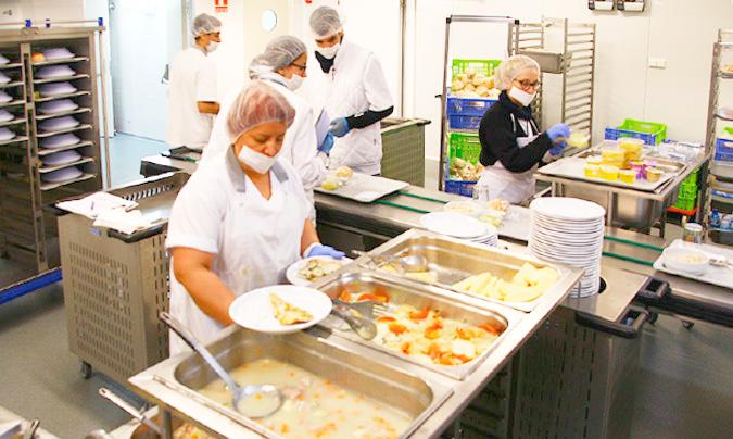 La cocina del Hospital Sant Pau de Barcelona, una de las galardonadas en esta edición.