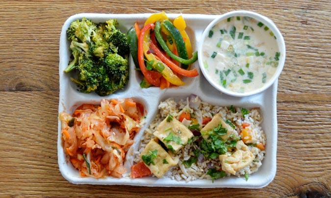 Menú escolar en Corea del Sur. ©Sweetgreen.