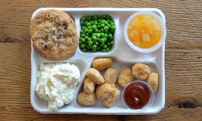 Menú escolar en EEUU. ©Sweetgreen.