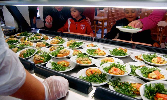 Experiencia piloto en A Coruña para ver la viabilidad de los menús escolares ecológicos