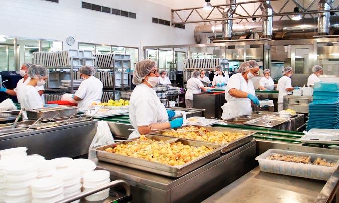 Instalaciones de cocina del Hospital General Universitario de Ciudad Real (HGUCR). ©Sescam.