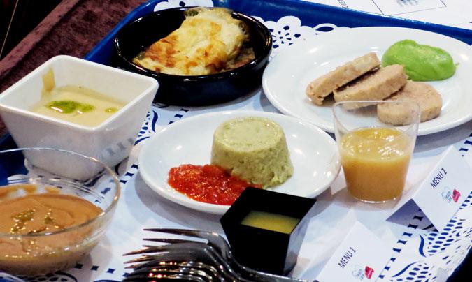 Los menús fueron elaborados con productos de la firma Campofrío Heath Care, patrocinadora de la jornada. ©Rest_colectiva.