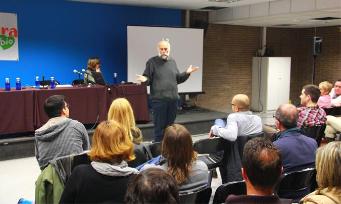 <b>Joan Manel Riera</b>, <i>Escola de Natura del Corredor</i>, responsable del programa <i>Escoles verdes</i> de la comarca del Maresme (Barcelona). ©Rest_colectiva