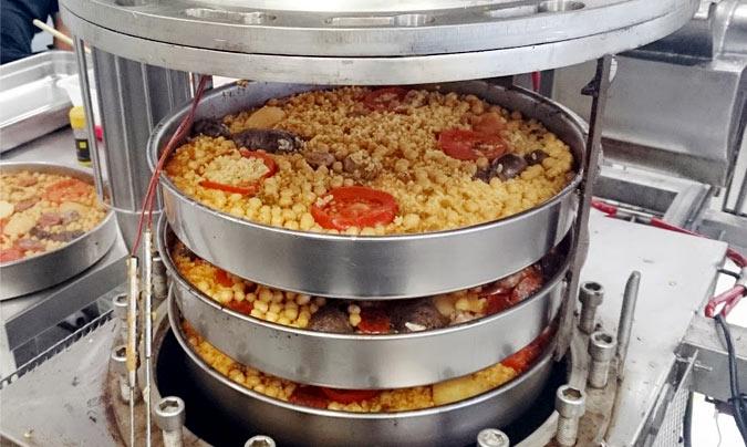 Equipos altamente eficientes y de gran productividad son una de las claves del éxito en 'Foodtopía 1.800w'. ©Foodtopía_1800w.