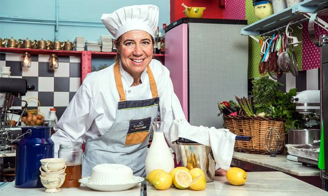 Ada Parellada asesora a los cocineros de las 400 escuelas de Eurest Catalunya