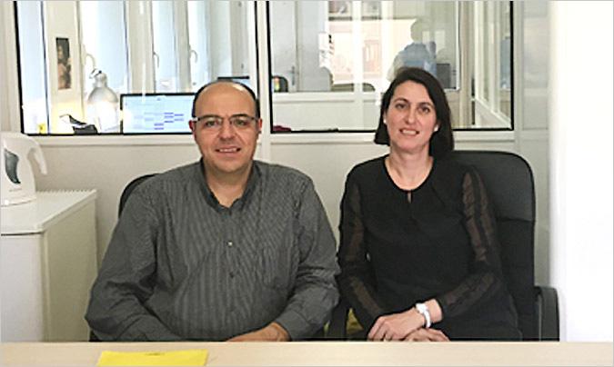 <b>Joan Maria Ribas</b> y <b>Maria Cervelló</b>, socios en Ecomenja.
