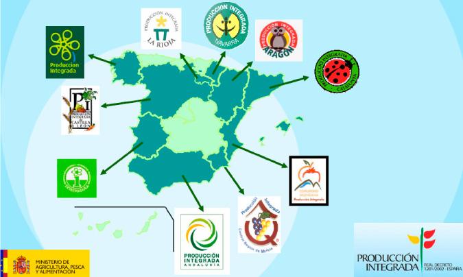 Los alimentos de producción integrada son sólo uno de los tipos de alimentos de calidad diferenciada… Hay otros como las DOP, IGP, ETG, Artesanía Alimentaria… además de las marcas de calidad alimentaria de cada una de las comunidades autónomas.