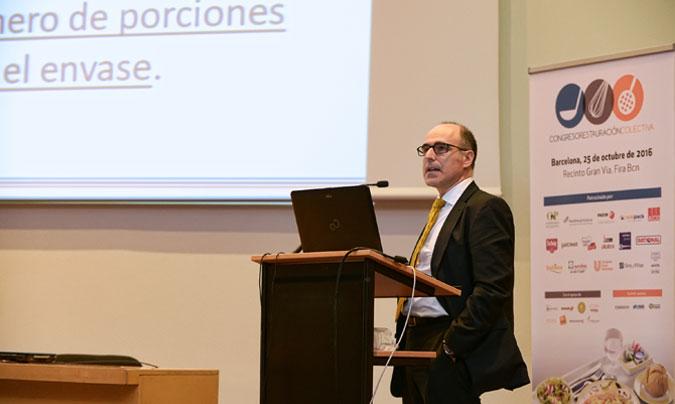 <b>Javier de Lamo</b> (Eurofins) fue el ponente de la cláusula dedicada al etiquetado nutricional.