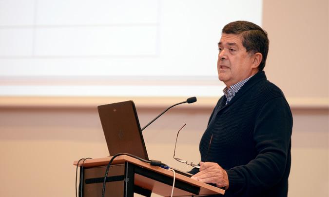 <b>Mario Cañizal</b> (Anta) presentó un estudio económico y de tendencias del sector.