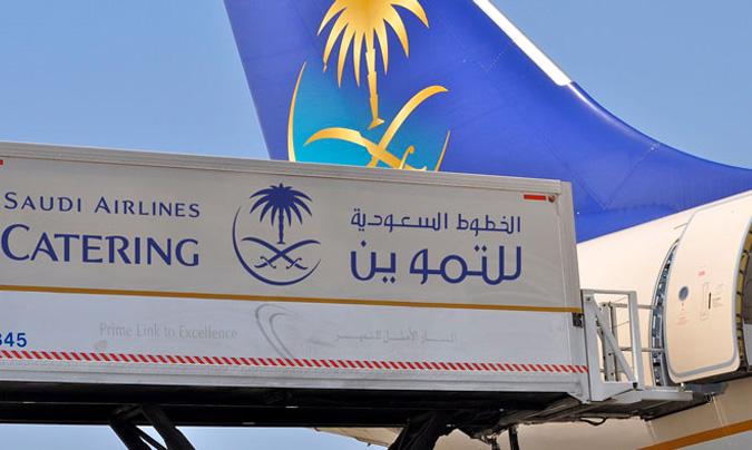 Saudia Airlines opera vuelos regulares domésticos e internacionales a más de 70 destinos en Oriente Medio, África, Asia, Europa y Norteamérica. ©Saudia Catering