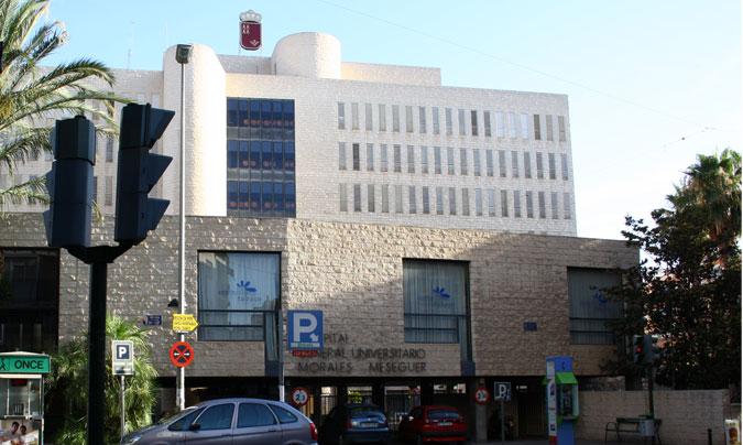 El primer centro donde se implantará el 'vending saludable' será en el Hospital Universitario Morales Meseguer.