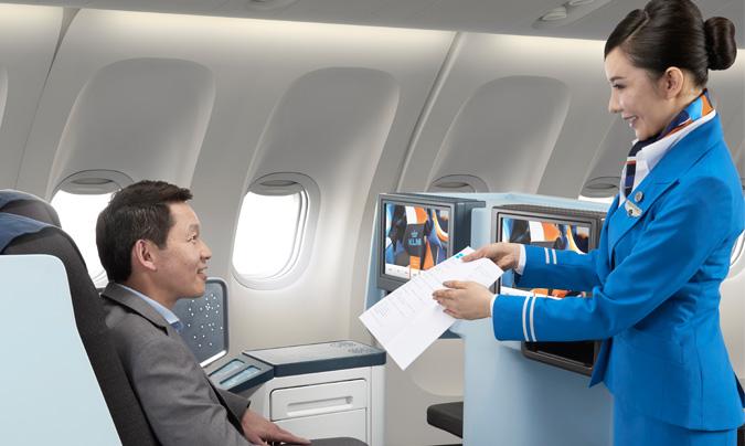 La KLM contará a partir del 1 de julio con el servicio 'Anytime for you' ('Siempre a su disposición') en sus vuelos entre Ámsterdam y Johannesburgo.