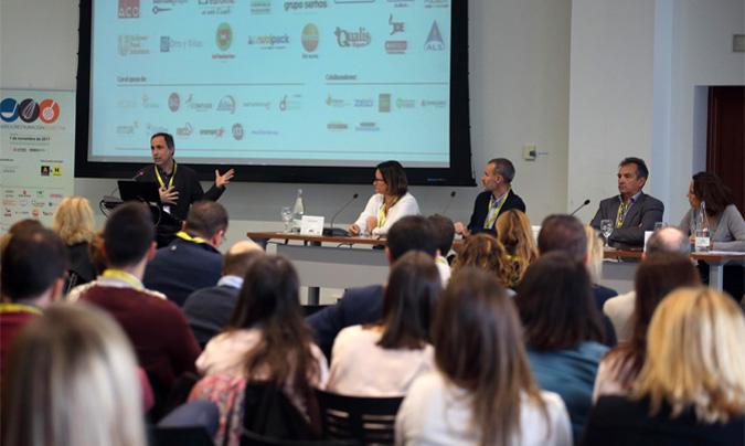 Vicente Domigo, comisionado especial del programa Valencia, capital mundial de la alimentación sostenible, 2017' en la inauguración del congreso. ©Eduardo_Alapont.