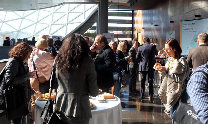 Durante el día, los asistentes pudieron degustar la gastronomía de Novaterra Catering, una empresa social que desde 2007 presta servicios de catering con el acento puesto en la sostenibilidad social y ambiental. ©Eduardo_Alapont.