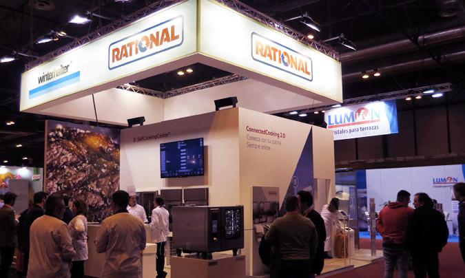 Rational presentó en HIP su innovador concepto de 'cocina sin fuego'.