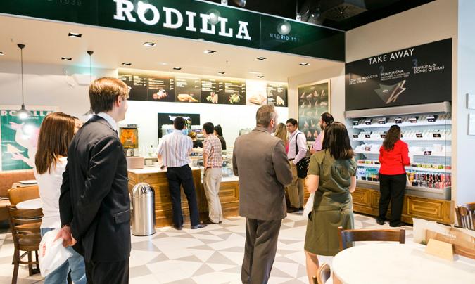 'Rodilla', uno de los nuevos puntos de venta de Distrito Telefónica. © Autogrill
