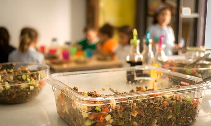 En 'Ca la Rosa', el 80% de los alimentos del menú son ecológicos. ©Ca_la_Rosa.