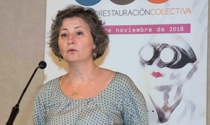 Begoña Fernández, directora general de Contratación y Servicios del Ayuntamiento de Madrid.
