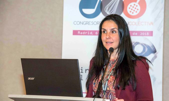 Laura Martín, responsable del departamento de Sistemas Integrados de Ucalsa.