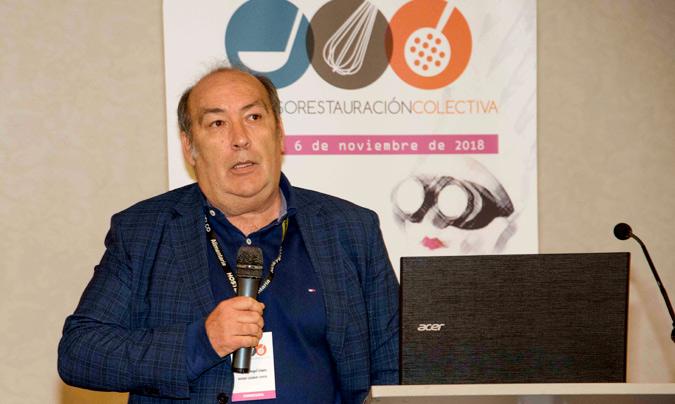 Miguel Ángel López, responsable de Seguridad Alimentaria y profesor de Diseño de Equipos e Instalaciones de Basque Culinary Center y profesor de la facultad de Ciencias Gastronómicas de la Universidad de Mondragón.