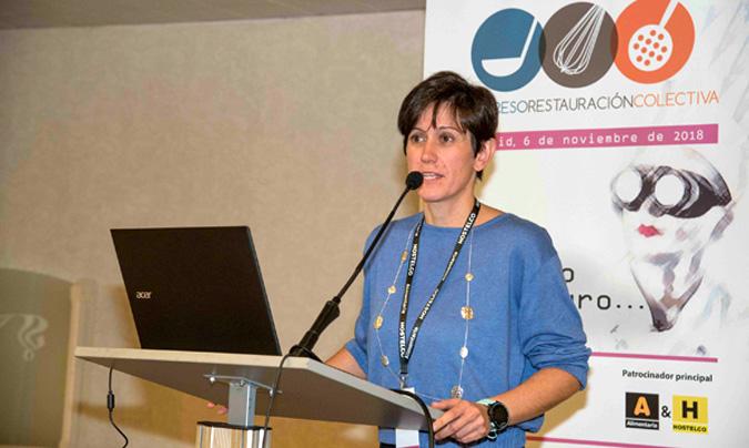 M. José Yusta, asesora del programa 'Estrategia Naos' de la Agencia Española de Consumo, Seguridad Alimentaria y Nutrición (Aecosan).