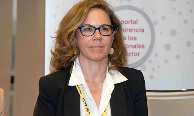 Mª Luisa Álvarez, directora gerente de Fedepesca y miembro del Comité Ejecutivo de Eduksano.