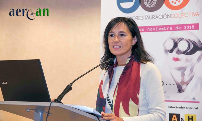 María López, directora corporativa de Relaciones Institucionales y Servicios Jurídicos y Dirección Corporativa de Ausolan, y nueva secretaria general de Aercan.