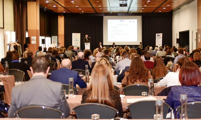 Aspecto general de la sala de ponencias; finalmente el congreso acreditó a 275 personas. ©RC_PacoDeogracias.