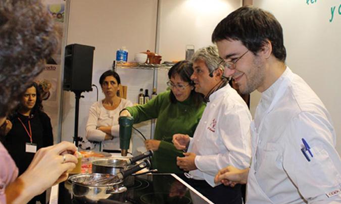 <b>Fernando Canales</b> del restaurante 'Etxanobe'. ©Biocultura