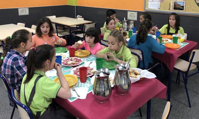 El colegio de Hurchillo recibe el Premio Naos por promocionar la alimentación saludable