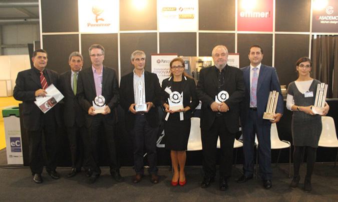 Entrega de premios en la primera edición de los <i>Excel45</i>.