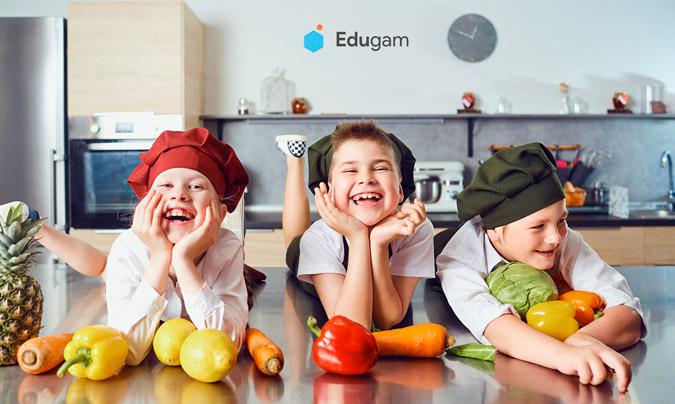 Edugam, un programa de gamificación sobre hábitos saludables, dirigido a escolares