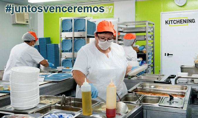 Kitchening pone a disposición del sector sociosanitario sus equipos, a precio de coste