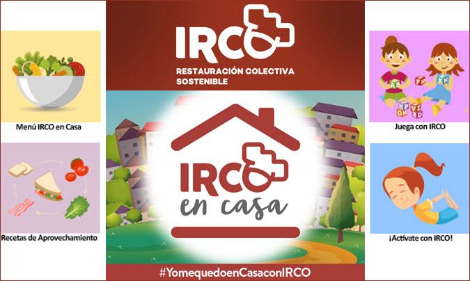 Irco desarrolla el programa 'Irco en casa' para ayudar a las familias durante el confinamiento