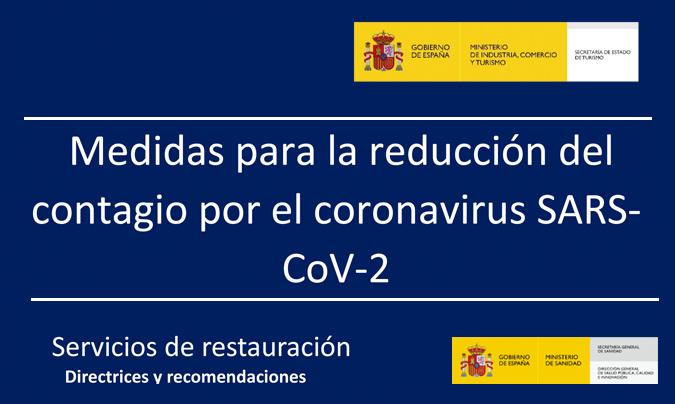 Recomendaciones para evitar contagios por <i>Covid</i> en restauración