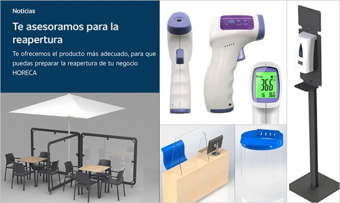 Oms y Viñas lanza una selección de productos específicos, para una reapertura con garantías