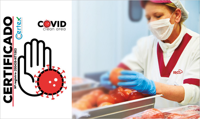 Las cocinas centrales de Irco obtienen el certificado de garantía 'Covid clean area'