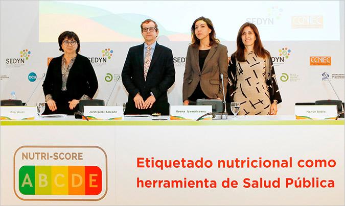 El pasado mes de enero se celebraron en Madrid unas jornadas en las que expertos en salud pública y nutrición, y organizaciones de consumidores reclamaron que el etiquetado Nutriscore sea de obligada implementación.