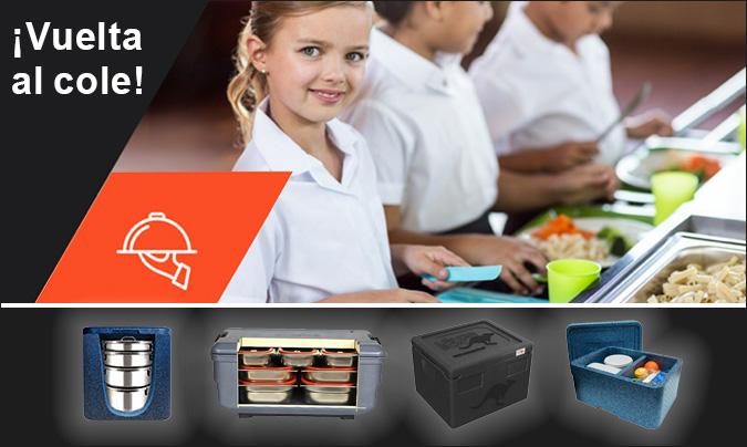 <i>Covid-19</i>: convertir las aulas en improvisados comedores escolares