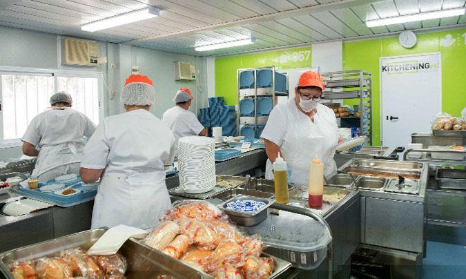 Kitchening, máxima higiene y seguridad alimentaria en todo tipo de cocina provisional