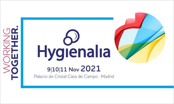 Hygienalia trabaja por una oferta 360° en torno al sector de la limpieza e higiene profesional