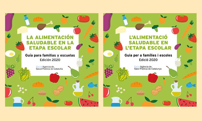 'La alimentación saludable en la etapa escolar', una nueva guía con información y recursos