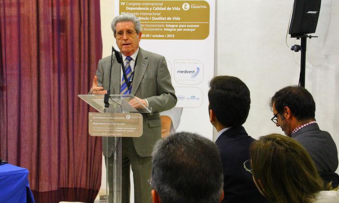 <b>Mario Cugat</b>, presidente de Fatec, habló de la guía desde el punto de vista de los usuarios. ©Rest_colectiva