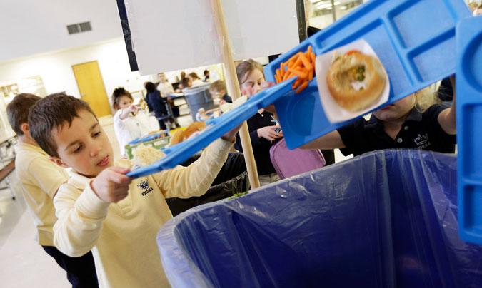 Los escolares aprenden la importancia del aprovechamiento de los alimentos