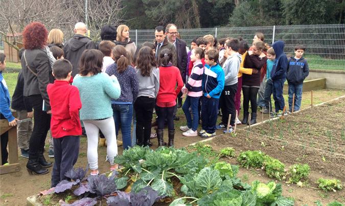 Convocada la segunda edición del premio Escola, agricultura i alimentació ecològica