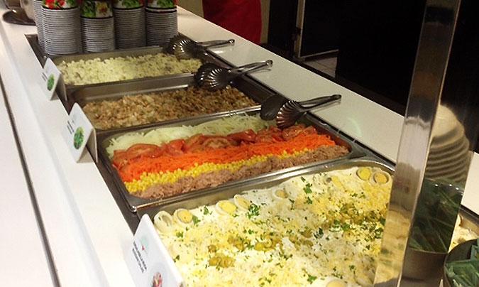 Detalle de los primeros platos fríos. © Cook & Events