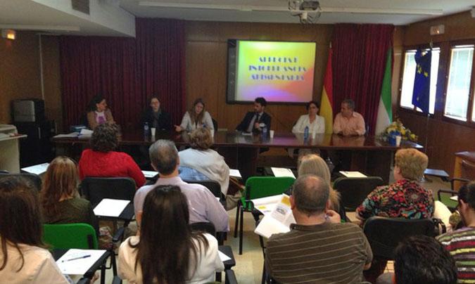 Imagen de las jornadas que se están celebrando estos días en el Hospital Don Benito-Villanueva.