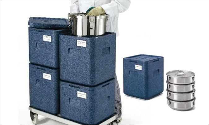 La importancia de los contenedores isotérmicos para el transporte de alimentos